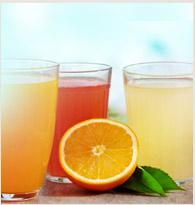 Les jus de fruits