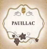 Vins d'appellation Pauillac