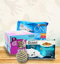 Alimentation chats en sachets fraîcheur