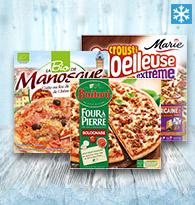 Pizzas Royales, Poulets, Bolognaises