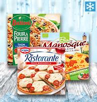 Pizzas Légumes, Poissons