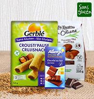 Biscuits sucrés, confiseries, chocolat