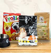 Alimentation pour chien en croquettes