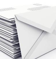 Enveloppes, Correspondance