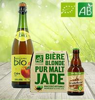Cidre, Bières