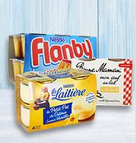 Crème aux oeufs, flan, caramel