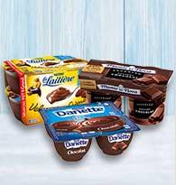 Crème dessert, Danette