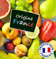 Fruits et Légumes Origine FRANCE
