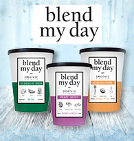 Blend my day, Smoothies à mixer