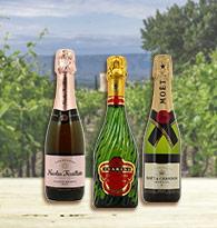 Champagne en Demi-bouteilles