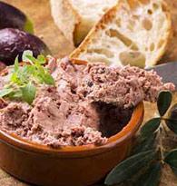 Foie gras, terrines