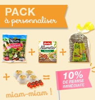 Packs à personnaliser